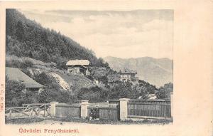 B29071 Udvozlet Fenyohaza Lubochna  slovakia