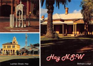 Australia Hay New South Wales, Bishops Lodge Lachlan Street Witcombe Fountain