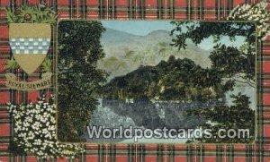 Royal Stewart Ellens Isle, Loch Katrine Scotland, Escocia Unused