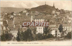 Old Postcard Chatel Guyon View Calvary