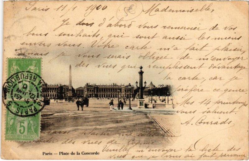 CPA PARIS 8e - Place de la Concorde (77381)