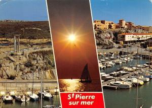 France Cote des Roses saint-Pierre-sur-Mer Le port Brossolette