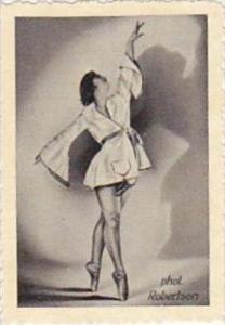 GARBATI CIGARETTE CARD FAMOUS DANCERS NO 77 RUTH MARCUS