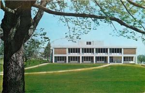Oskaloosa Iowa~William Penn College~Student Center Building~1960s Postcard