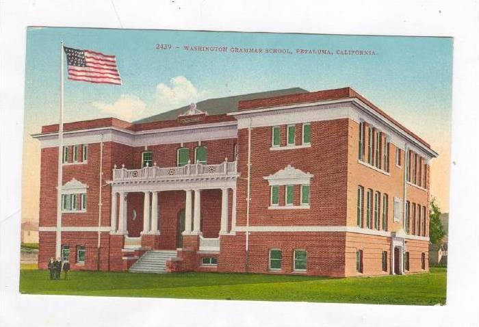 Washington Grammar School, Petaluma, California, 1900-1910s
