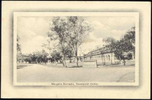 pakistan, RAWALPINDI, Margalia Barracks (1910s)