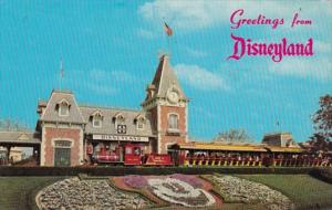 Disneyland Train Depot & Passenger Train 1977
