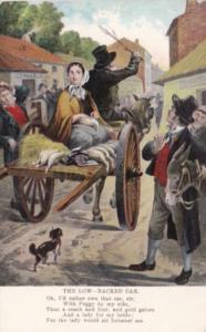 Ireland The Low Backed Car Horse & Wagon