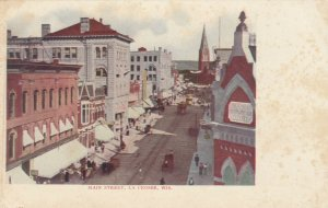 LA CROSSE, Wisconsin, 1900-10s; Main Street
