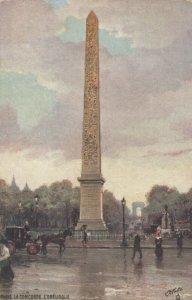 PARIS, France, 1900-10s; La Concorde , L'Obelisque ; TUCK 125 P No 91