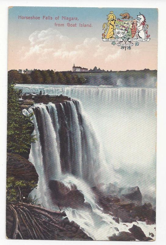 Canada Niagara Falls Lot of 3 Postcards American and Horseshoe Falls Winter