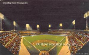 Comiskey Park Chicago, Illinois, IL, USA Stadium Unused