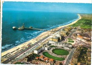 Holland, Netherlands, Scheveningen, Boulevard en Zee, 1968 used Postcard