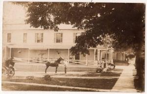 RPPC Big House, Came from Palmyra NY Collection