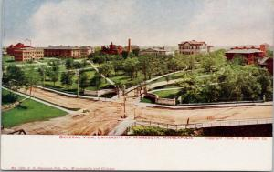 University of Minnesota Minneapolis MN HW Wilson Hammon Postcard E47 UNUSED