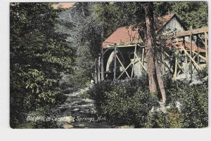PPC POSTCARD ARKANSAS OLD MILL IN GORGE HOT SPRINGS NICE EARLY CARD