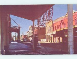 Pre-1980 SHOPS ALONG STREET Virginia City - Near Reno & Carson City NV i0015