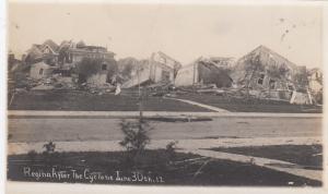 RP: After the Cyclone , REGINA , Saskatchewan, Canada , 1912