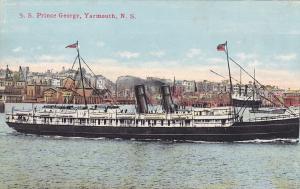 YARMOUTH, Nova Scotia , 00-10s; S. S. Prince George