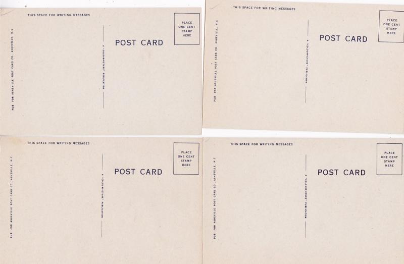 0198 Grabbag Auction 4 Comic Postcards Starting At .99