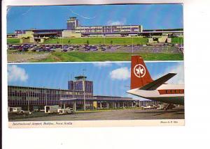 International Airport Twoviews, Air Canada Plane, Buidling, Nova Scotia, Wils...