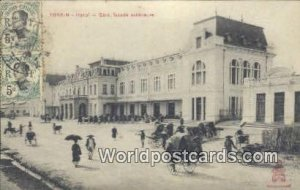 Hanoi, Gare, fa¡ade exterieure Tonkin Vietnam, Viet Nam 1906 Missing Stamp