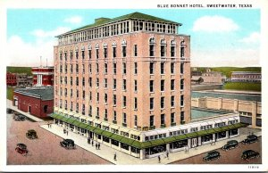 Texas Sweetwater Blue Bonnet Hotel Curteich