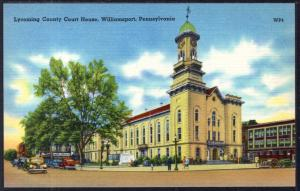 Lycoming County Court House,Williamsport,PA