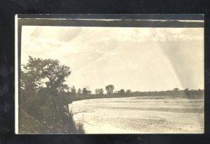 RPPC STAR NEBRASKA RIVER CREEK SUTHERLAND IOWA MELLIE WADE REAL PHOTO POSTCARD
