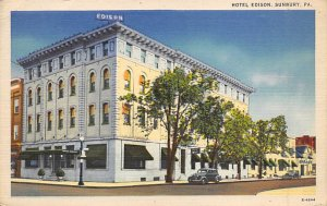 Hotel Edison Sunbury, Pennsylvania PA