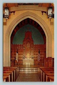 Los Angeles CA- California, Westminster Chapel, Chrome c1959Postcard