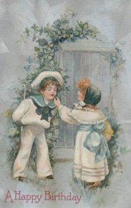 Birthday Greetings, 1909 ; Child Couple ; WINSCH