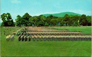 Vtg CT Postale - Cadet Parade À Ouest Point Militaire Académie New York Ny - Unp
