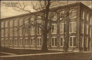 Perry NY Knitting Mills c1910 Postcard