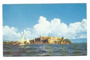 Morro Castle, San Juan,  Puerto Rico,   PU-40-60s