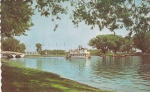 The Little Trillium Paddle Wheel Boat, Toronto, Ontario, Canada, 1940-1960s