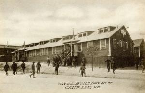 VA - Camp Lee. YMCA Building #57 (Military)