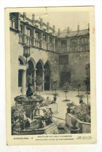 RP, Diputacion: Patio De Los Naranjos, Barcelona (Catalonia), Spain, 1920-1940s