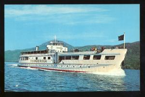 Lake George, Postcard, MV Ticonderoga Cruise Ship