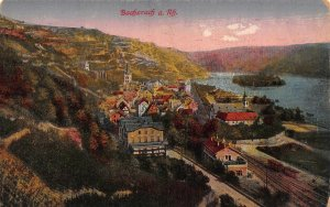 Bacharach am Rhein Church General view Postcard