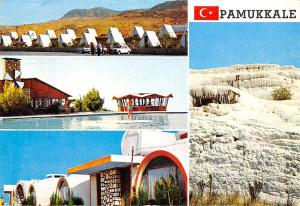 Turkey Pamukkale Hierapolis, Esot Camping Motel Koru Traverten Swimming Pool