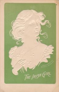 Beautiful Irish Girl Signed Fred Lounsbury 1909