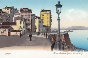 CORFU , Greece , 1900-10s ; Rue Arsene