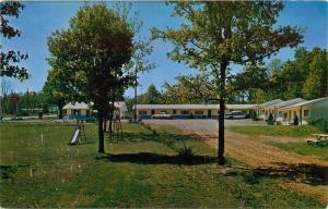 Lakeview, Baxter County, AR, Harold's Medallion Resort, Vintage Postcard c5082