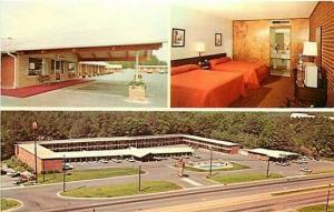 NC, Raleigh-Durham, North Carolina, Ranch Motel & Restaurant, Dexter Press