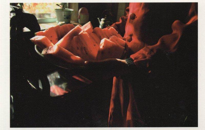 Xianjing China Mantou Bread Chinese Photo Award Postcard
