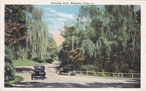 Automobiles, Riverside Park, MEMPHIS, Tennessee, 1910-1920s