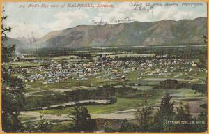 Kalispell, Mont., Bird's Eye View c1906 - 1906