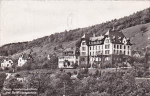 Switzerland Brugg Landwirtschaftiche und Haushaltungsschule 1959 Real Photo