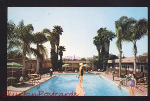 SANTA MONICA CALIFORNIA WILLIAM TELL MOTEL SWIMMING POOL